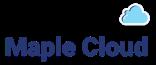 Maple Cloud Logo Blue